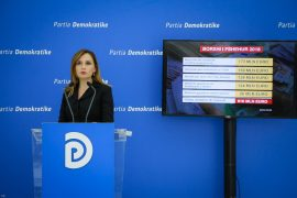 PD: Qeveria ka manipuluar shifrat e borxhit publik