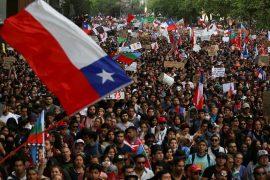 Protesta në Kili, qytetarët kërkojnë largimin e Presidentit Piñera