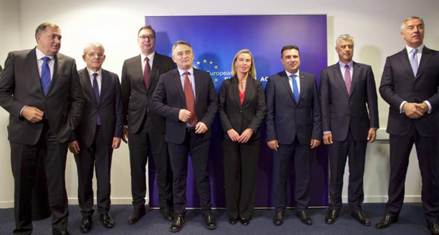 Rama mungon në darkën e liderëve të Ballkanit me Mogherinin