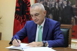 Presidenti Meta publikon listën e kandidatëve për vendin vakant të Besnik Muçit