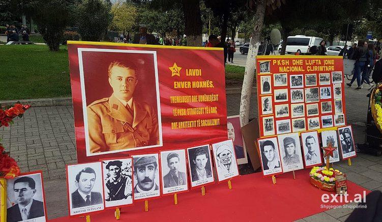 75-vjetori i çlirimit, nderohet mes Tiranës diktatori Hoxha