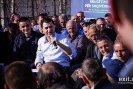 Basha fermerëve në Lezhë: Bujqësia, prioriteti ynë me ardhjen në pushtet