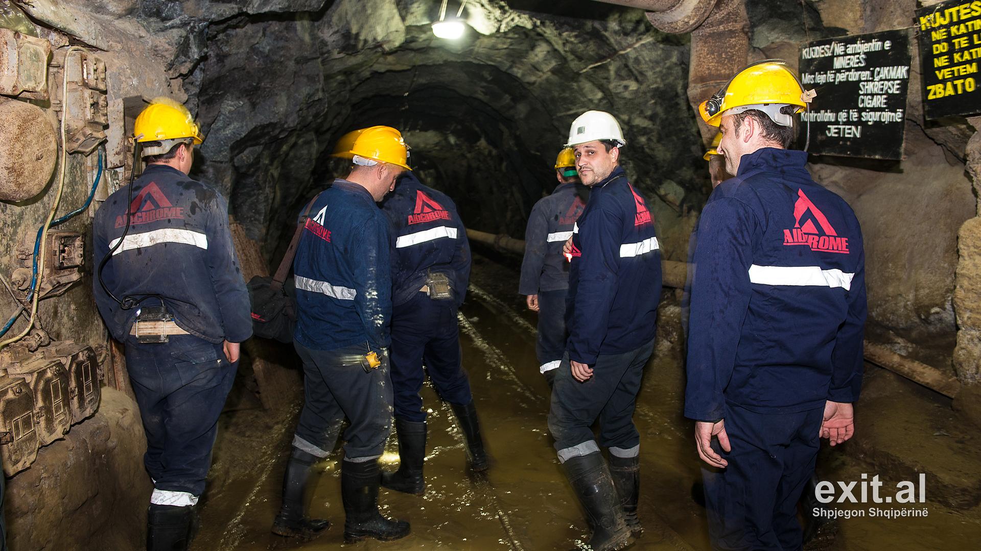 AlbChrome shkarkon nga puna kryetarin e sindikatës së minatorëve të Bulqizës