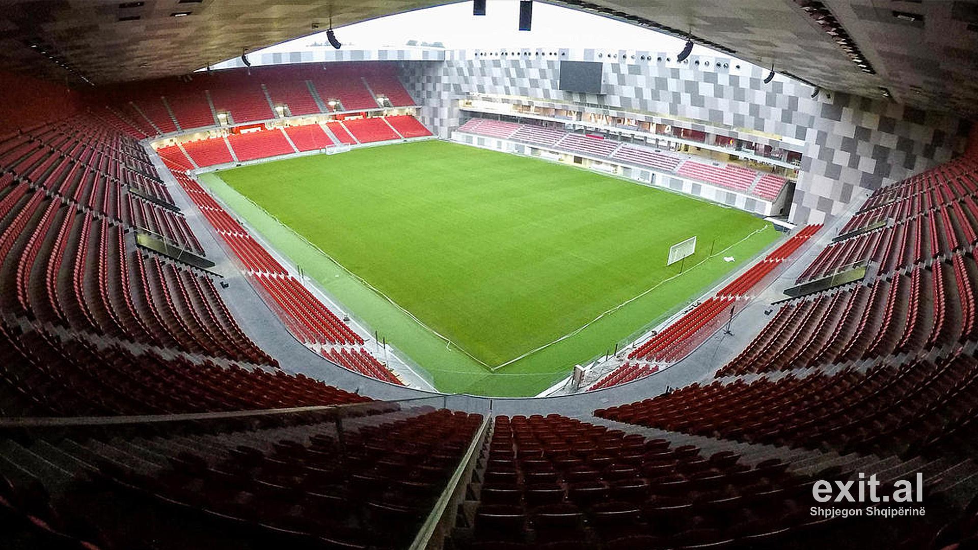 Kukësi-Partizani luhet në 'Air Albania Stadium'