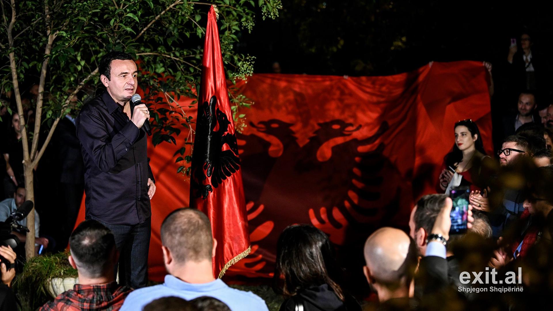 Kurti: Teza për shkëmbime territoresh me Serbinë uli dëshirën për bashkim kombëtar