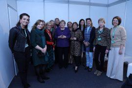 Ish-deputetja Vokshi: Kancelarja Merkel mbështet perspektivën europiane të Shqipërisë