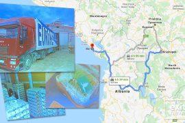Në Maqedoninë e Veriut u kapën vetëm 1 kg nga ngarkesa prej 1,3 tonësh kokainë
