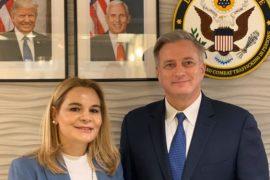 Kryetarja e LSI-së takon ambasadorin John Richmond