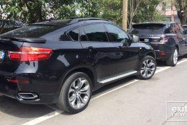 Policia sekuestron tjetër veturë të blinduar në aksionin ndaj makinave të shtrenjta