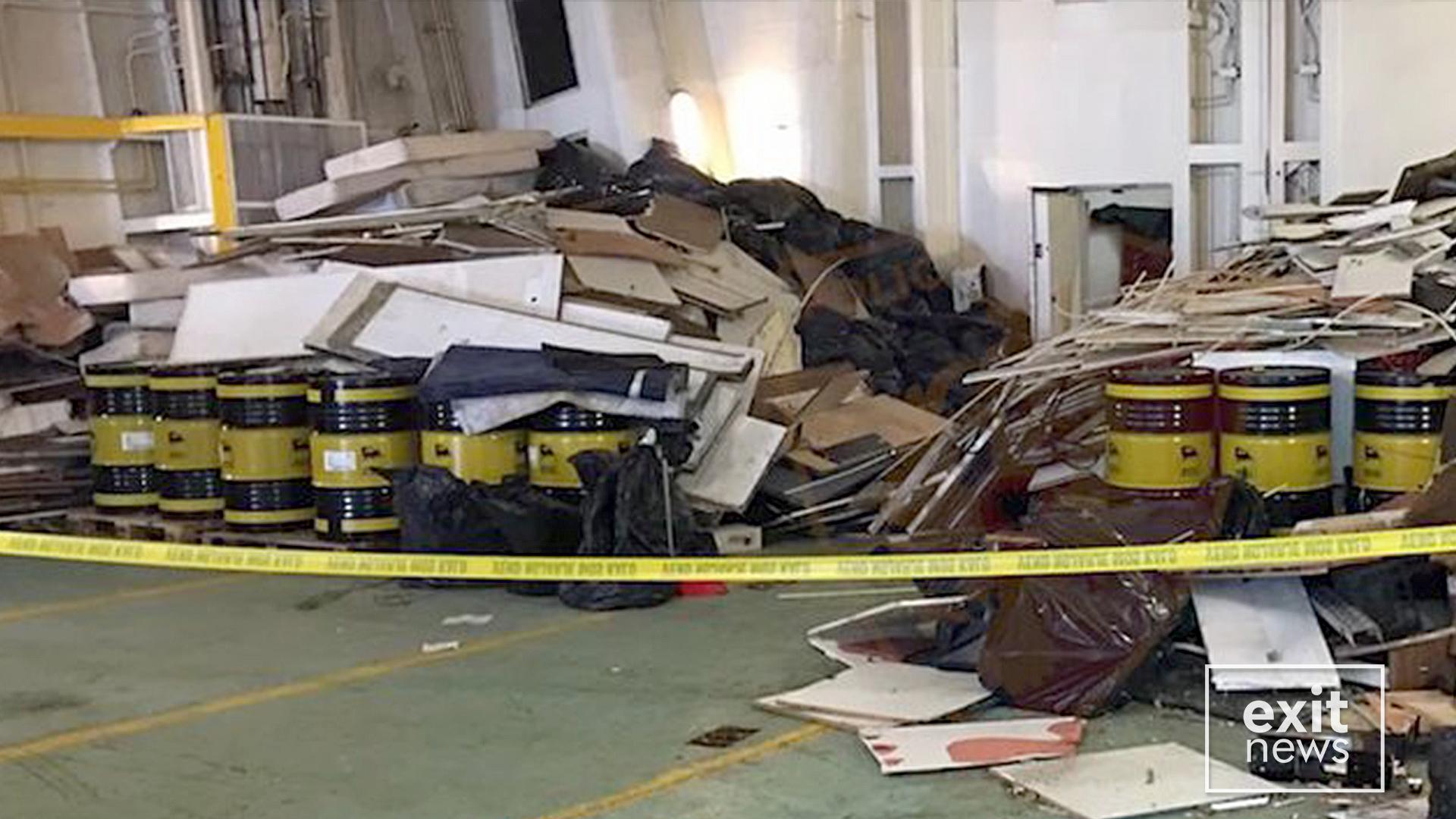 Gjykata lë në burg 3 nga 6 të arrestuarit për mbetjet e rrezikshme në Vlorë