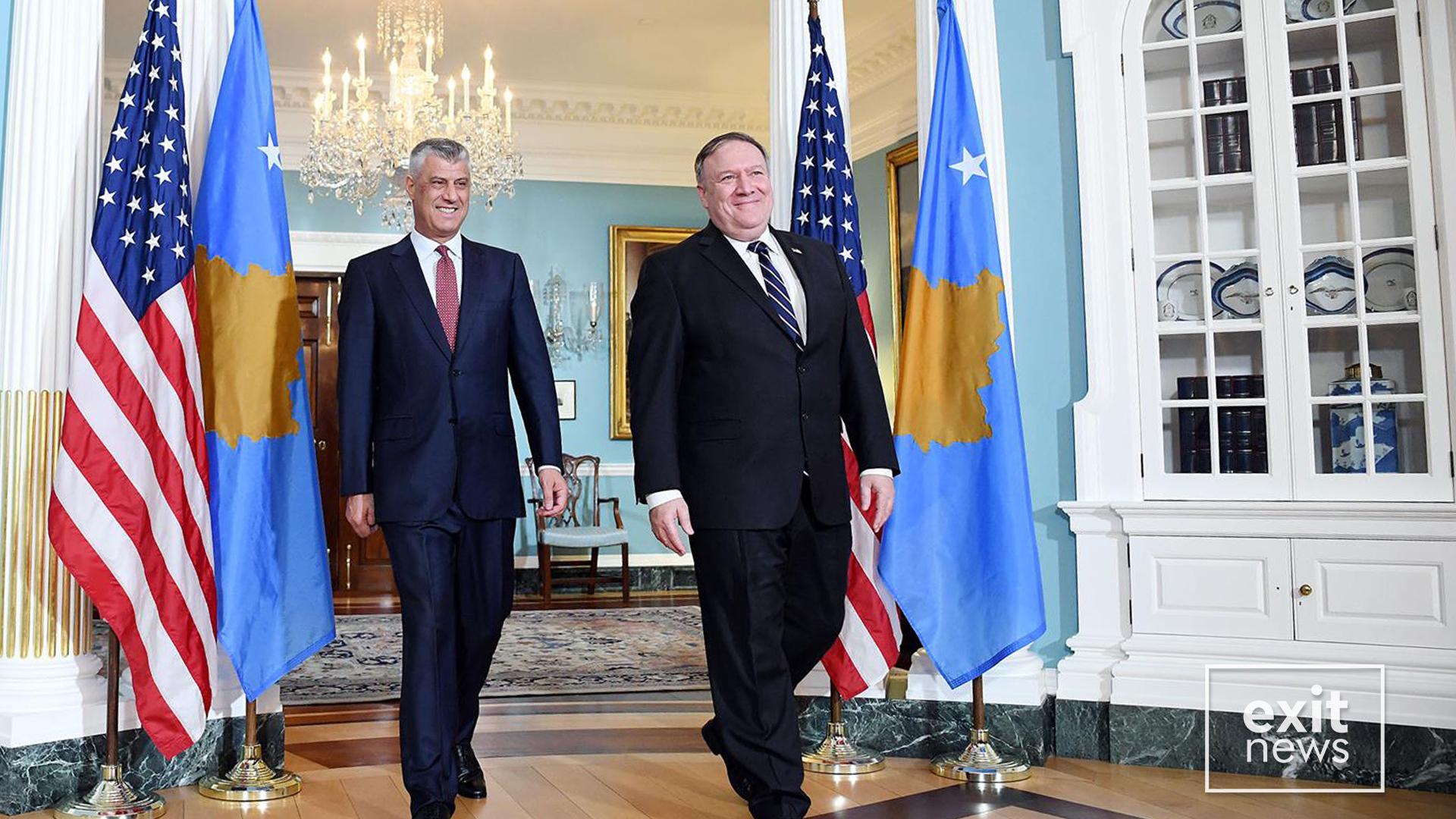 SHBA-të vazhdojnë presionet ndaj Kosovës për heqjen e taksës ndaj Serbisë