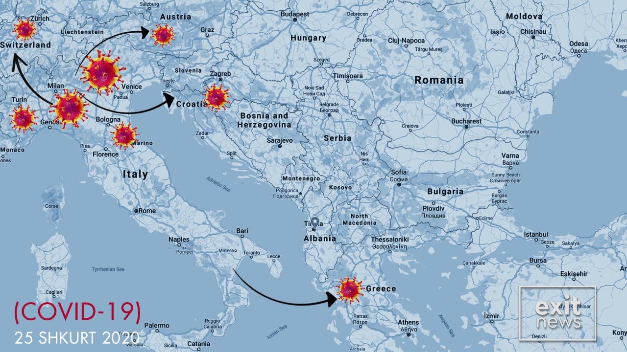 Koronavirus dhe në Greqi, e prekura kishte ardhur nga Italia