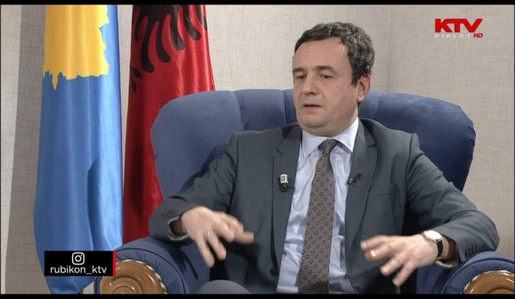 Albin Kurti: Mini-Shengeni Ballkanik mund të jetë vizioni i Serbisë për një Jugosllavi të Re