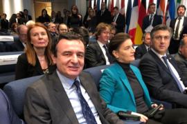 Kurti në samitin e BERZH: Prioriteti ynë, hekurudha Kosovë-Serbi