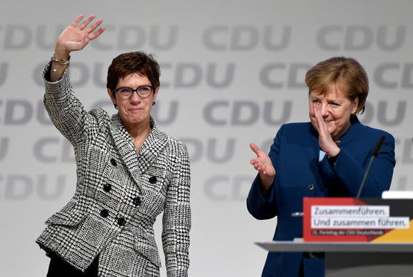 Pasardhësja e Merkelit dorëhiqet nga drejtimi i CDU