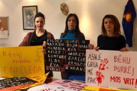 Gratë në Tiranë protestë në 8 Mars