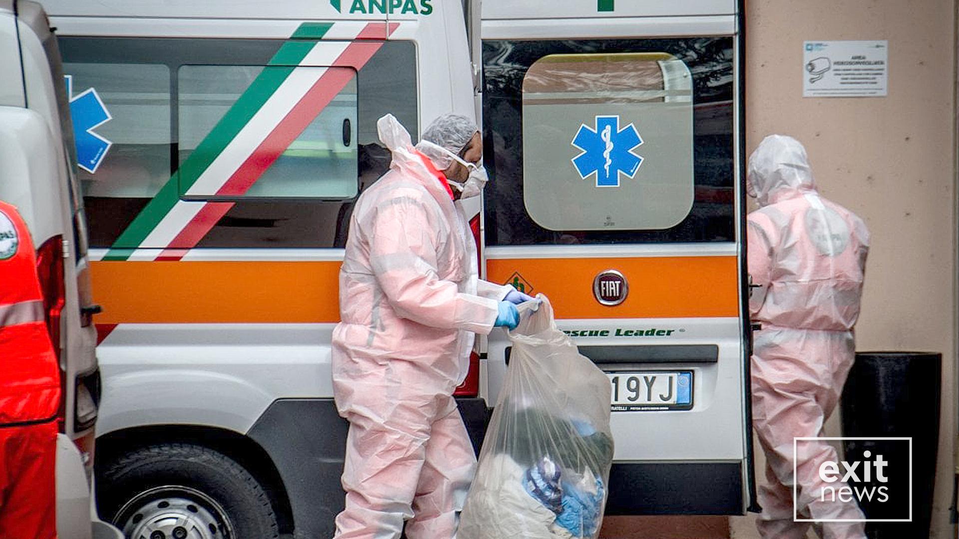 Vazhdon niveli i lartë i vdekjeve në Itali: 601 viktima në 24 orët e fundit