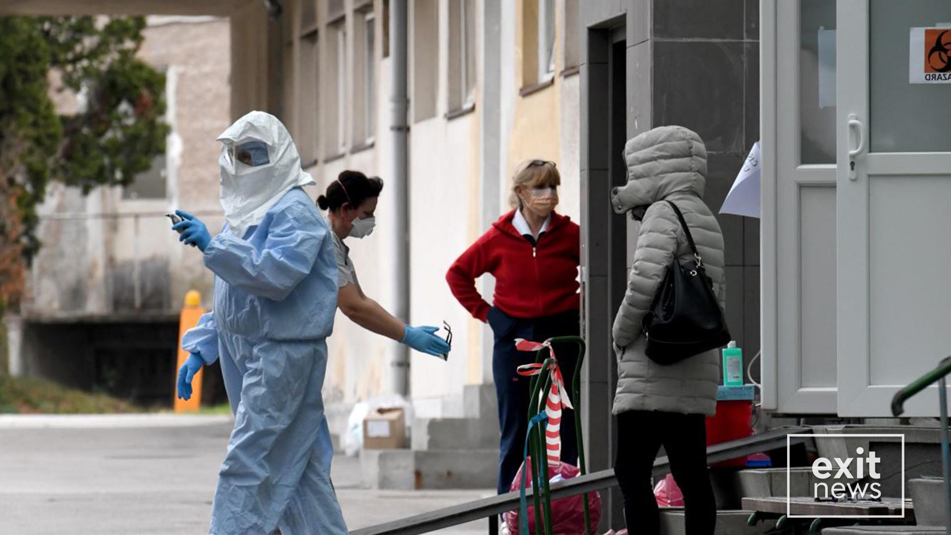 Tre viktima të tjera me Covid-19 në Kosovë e Maqedoni të Veriut