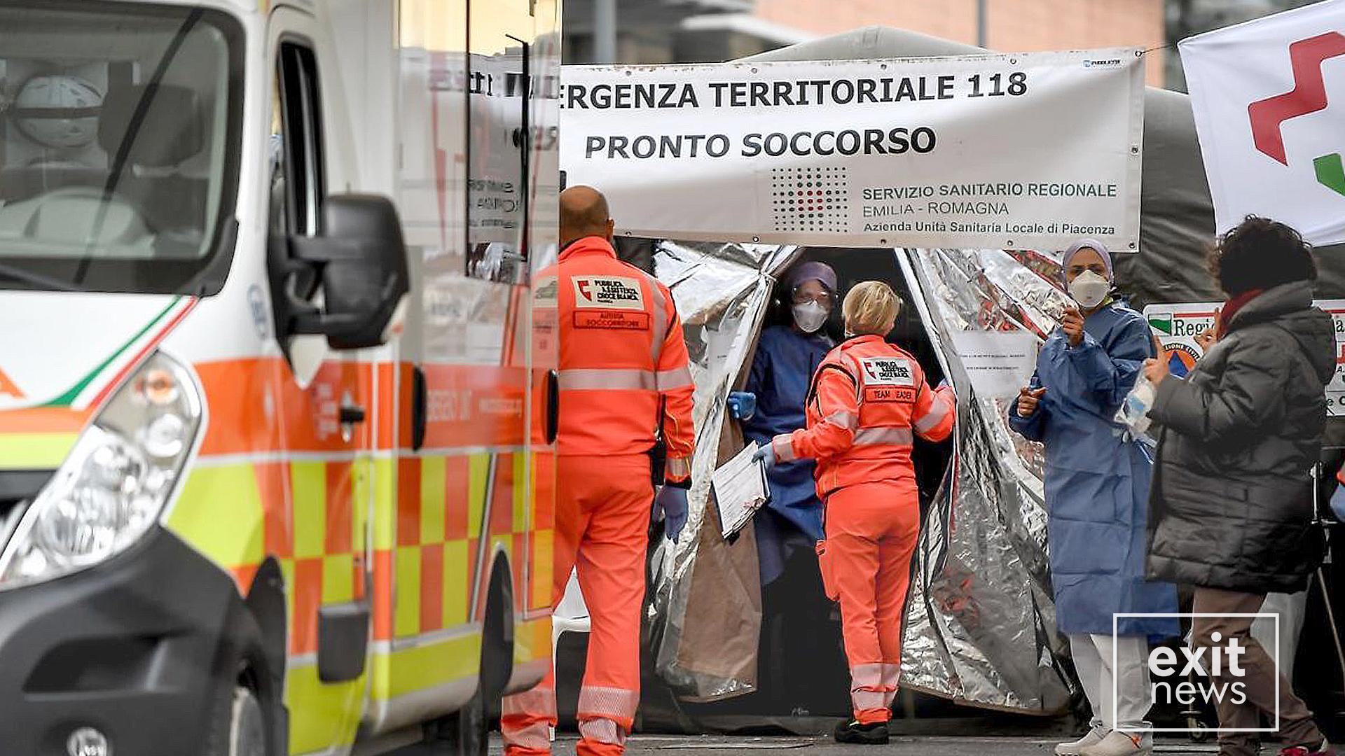 Italia e para në botë për numrin e vdekjeve