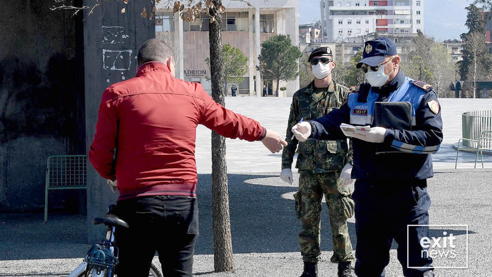 Policia, mbi 82 mijë euro gjoba në 3 ditë