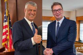 SHBA-të organizojnë takim mes Thaçit dhe Vuçiçit
