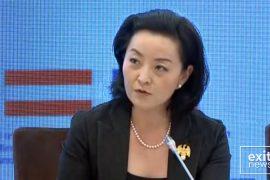 Ambasadorja Kim dekoron dy punonjës të sigurisë së ambasadës në Tiranë