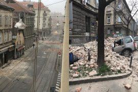 Tërmet i fortë në Kroaci, një i vdekur, dëme dhe panik