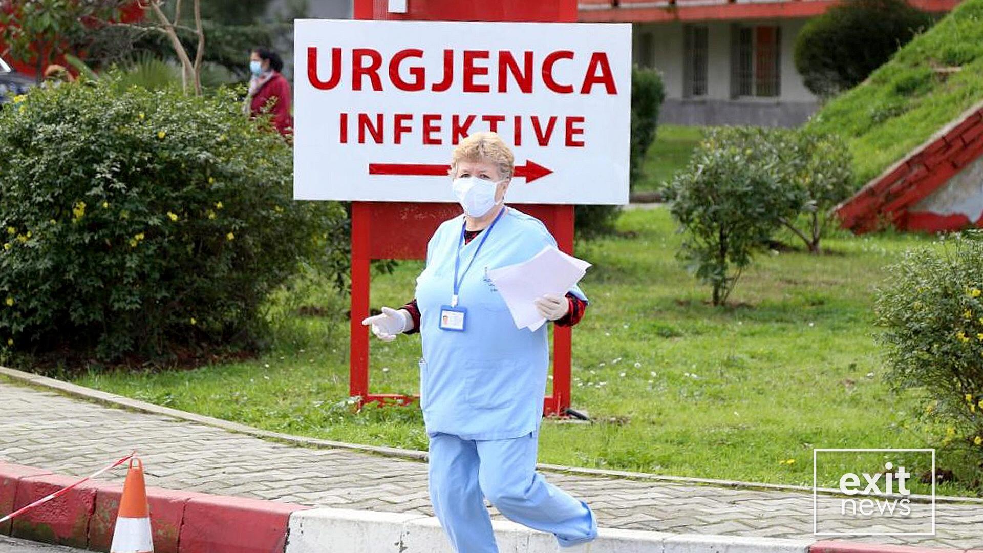 Vdes pacienti i gjashtë me koronavirus në Shqipëri