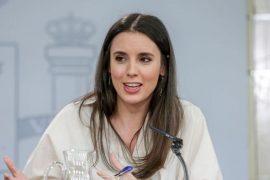 Ministrja spanjolle, pozitive ndaj koronavirusit