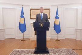 Presidenti Thaçi: SHBA-të do drejtojnë bisedimet Kosovë-Serbi