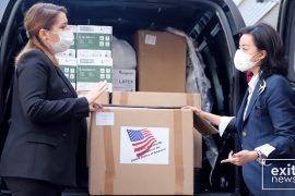 SHBA-të dhurojnë materiale mbrojtëse për mjekët shqiptarë