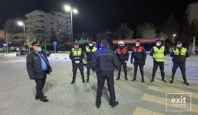 Një polic në Tiranë i infektuar me Covid-19, kolegët në izolim