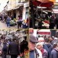 Ushtria dhe policia në tregje për të ruajtur distancat mes qytetarëve