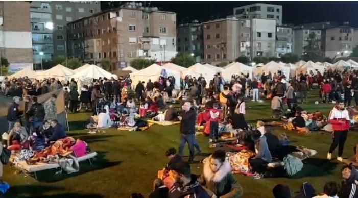 33 000 shqiptarë janë shpërngulur pas tërmeteve të shtatorit dhe nëntorit