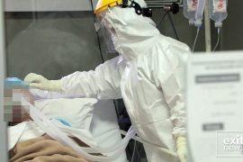 Foto-lajm: Brenda Spitalit Infektiv ku trajtohen të sëmurët me Covid-19