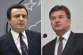 Kurti i bën të qartë Lajçak: Nuk negociojmë ndryshim kufijsh