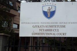 Gjykata Kushtetuese në Kosovë fillon shqyrtimin mbi dekretin e Presidentit Thaçi