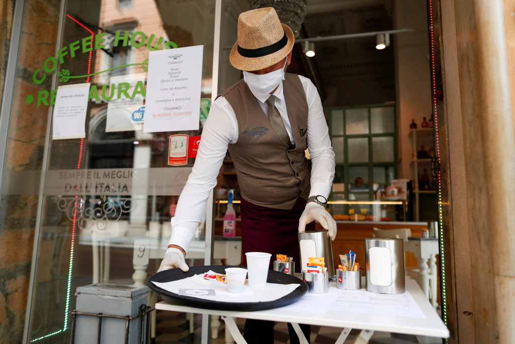 Kafe ne Rome