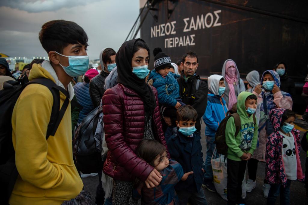 Kampi i refugjateve ne greqi
