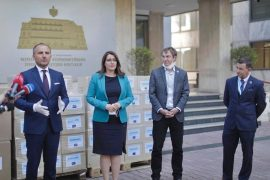 BE i dhuron Shqipërisë 10 000 kite testimi dhe mbi 200 000 mjete mbrojtëse