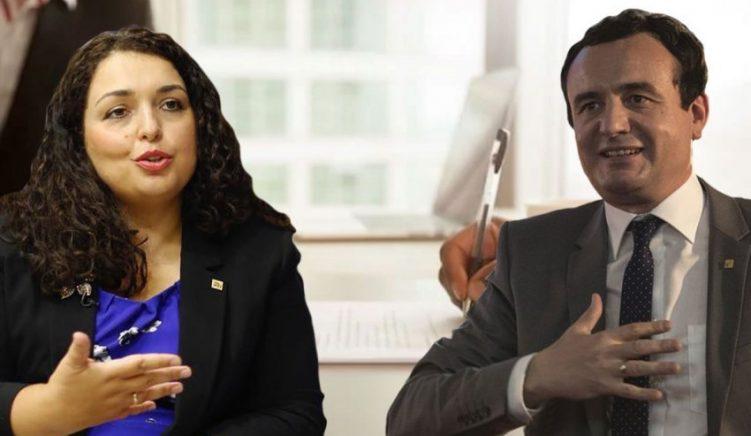 Sondazhi i UNDP-së: Kosovarët shumë të kënaqur me punën e Vjosa Osmanit dhe Albin Kurtit