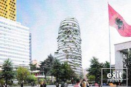 Prishen ndërtesat në krah të Hotel Tiranës, gati ndërtimi i kullës 85 metra të lartë