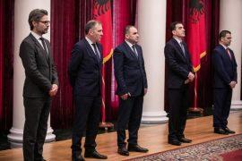 Betohen para Presidentit, tre anëtarët e rinj të SPAK