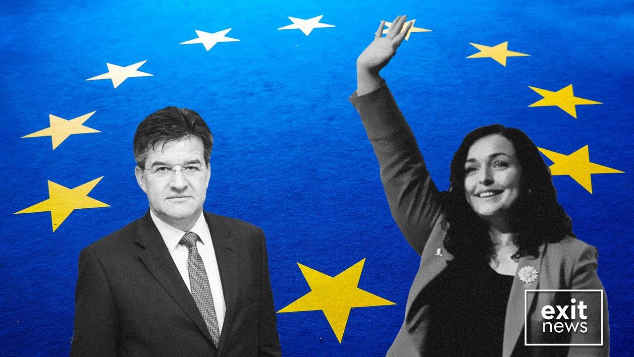 I dërguari i BE-së Lajçak dhe kryeparlamentarja Osmani diskutojnë nisjen e dialogut Kosovë-Serbi