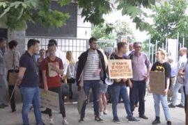 Gjykata dënon 8 protestuesit e arrestuar, pas shembejs së Teatrit Kombëtar