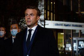 Macron e quan sulm terrorist vrasjen e mësuesit të premten