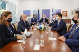 Basha takon ministrin e jashtëm grek, Niko Dendias
