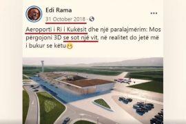 PS e PD propagandë me aeroportin e Kukësit