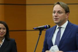 Calavera dhe Varhelyi vlerësojnë reformën në drejtësi