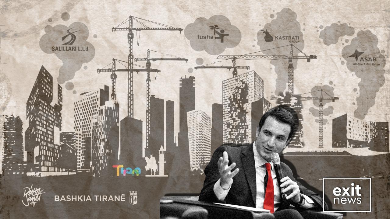 €127 milionë ndërtime miratuar në Tiranë në periudhën janar-mars 2021